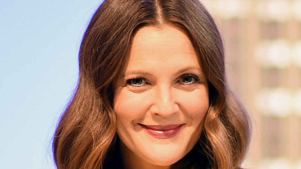 Drew Barrymore smiles at launch of her daytime show