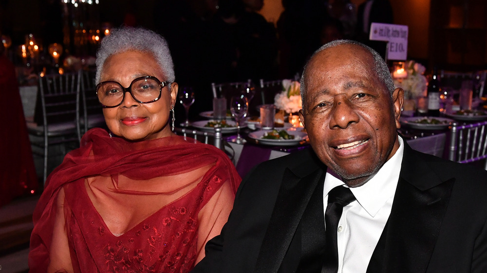 Billye and Hank Aaron at an event