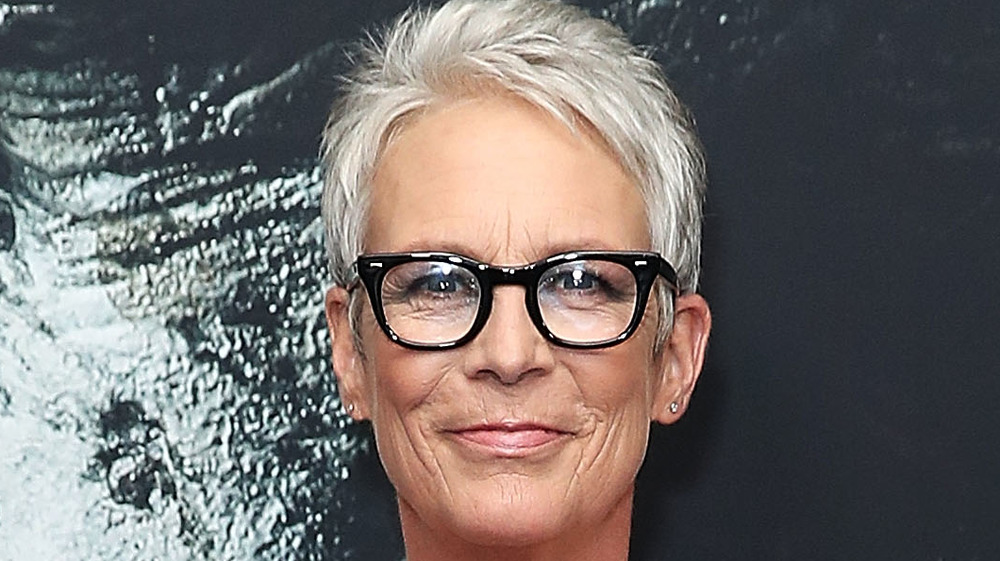 Jamie Lee Curtis smiling