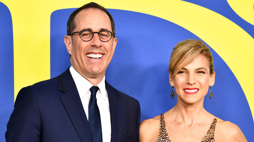 Jerry and Jessica Seinfeld at awards show