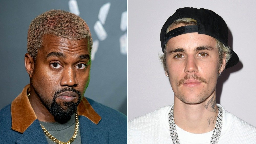 Kanye West and Justin Bieber