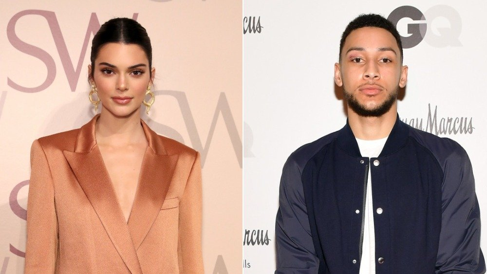 Kendall Jenner and Ben Simmons
