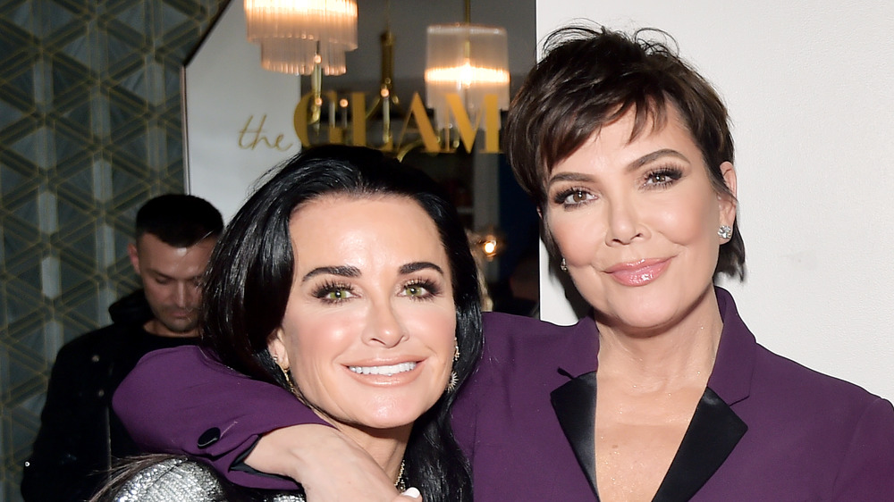 Kris Jenner and Kyle Richards red carpet