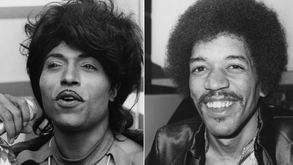 Little Richard and Jimi Hendrix