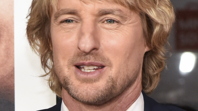 Owen Wilson on the red carpet