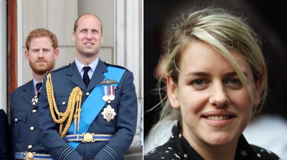 Prince Harry, Prince William, Laura Lopes