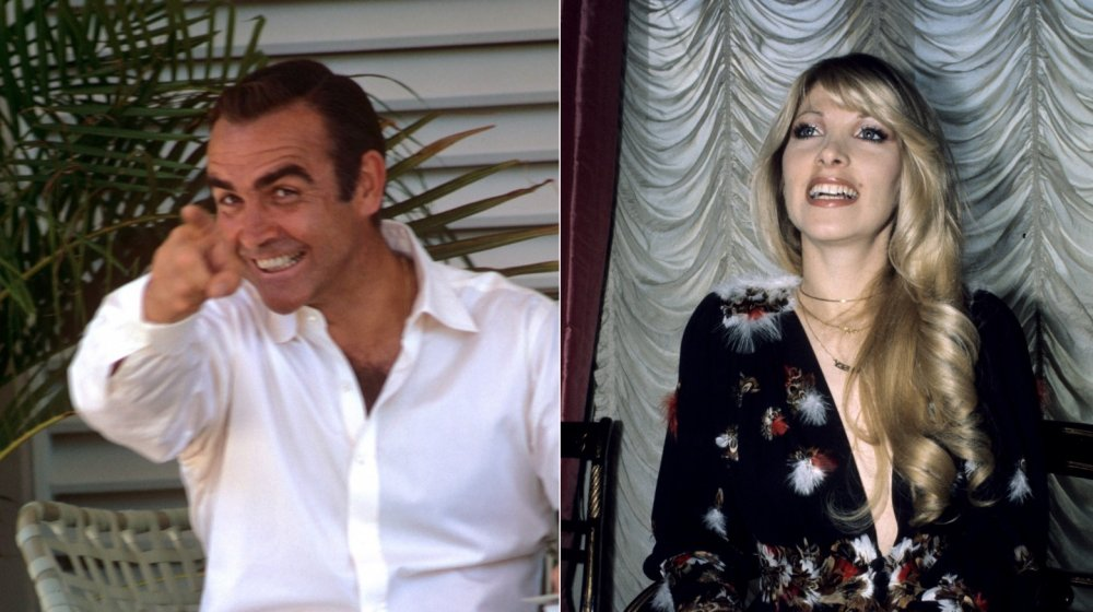 Sean Connery and Lynsey de Paul
