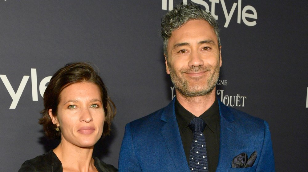Taika Waititi and Chelsea Winstanley