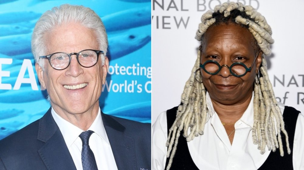 'The Good Place' actor Ted Danson; 'The View' co-host Whoopi Goldberg