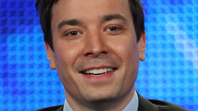 Jimmy Fallon smiling