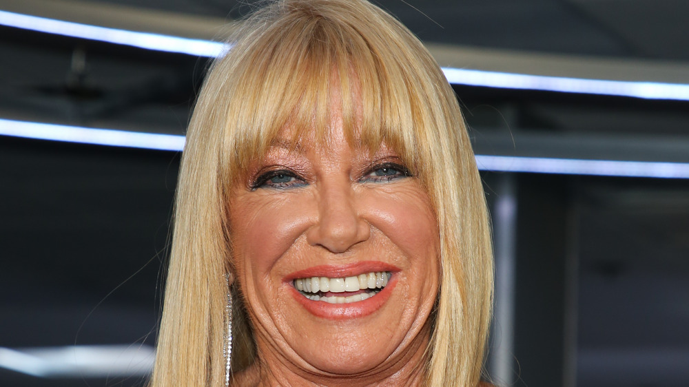 Suzanne Somers smiling