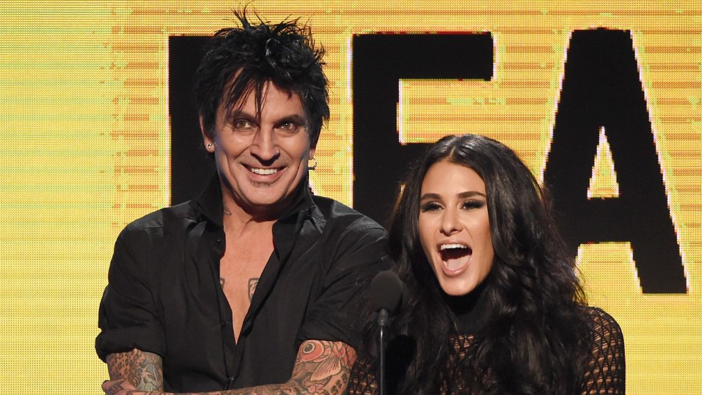 Tommy Lee and wife Brittany Furlan