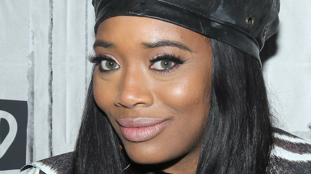 Yandy Smith on red carpet