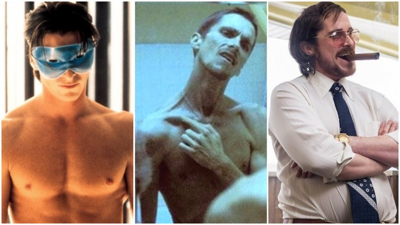The truth behind Christian Bale's insane body transformations