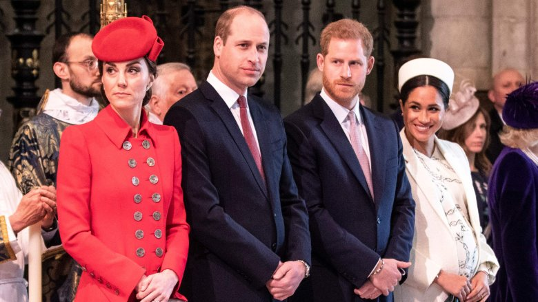 Kate Middleton, Prince William, Prince Harry and Meghan Markle