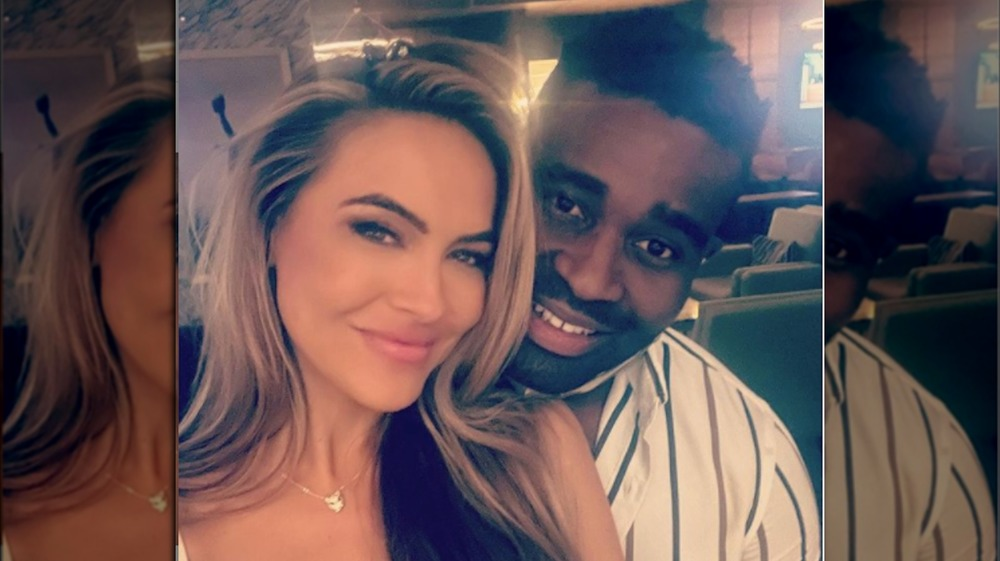 Keo Motsepe and Chrishell Stause