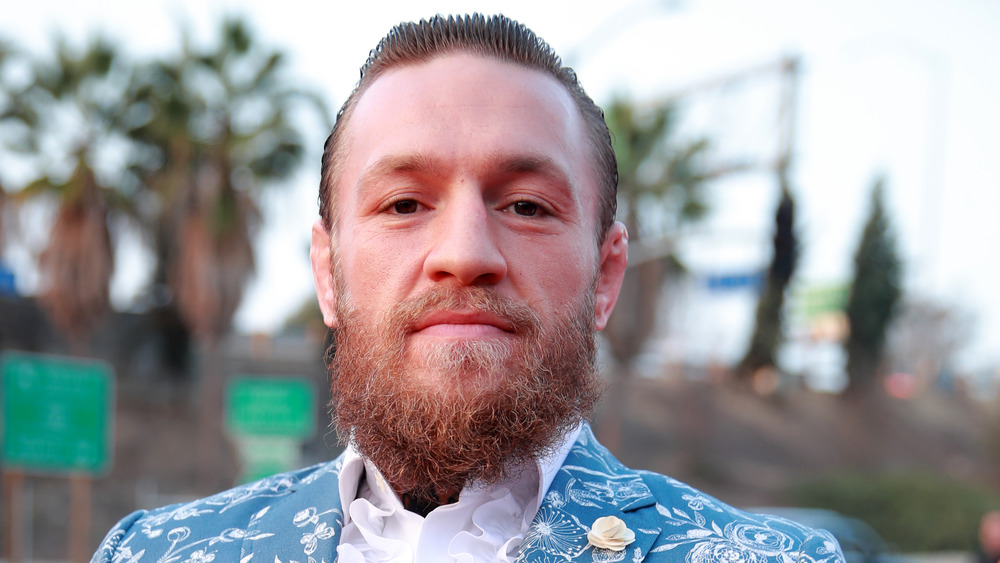 Conor McGregor at an event