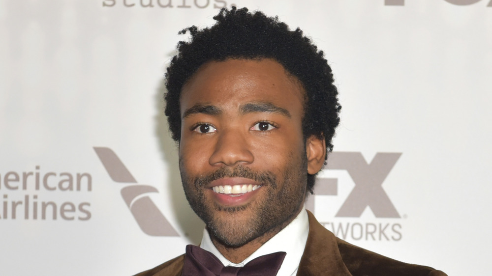 Donald Glover at the Golden Globes