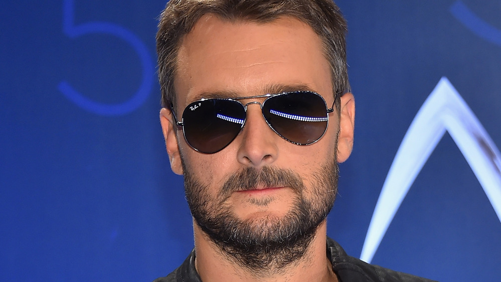 Eric Church at award show