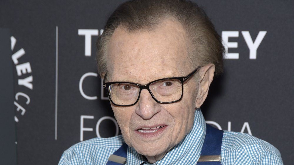 Larry King at Eyewitness: Documenting The Holocaust On Film at The Paley Center for Media