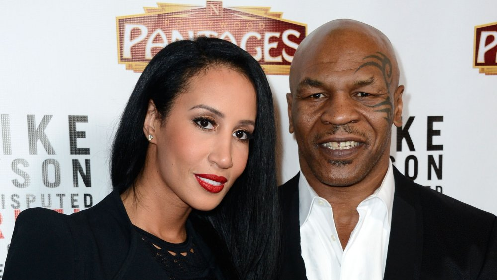 Mike Tyson and Lakiha Spicer