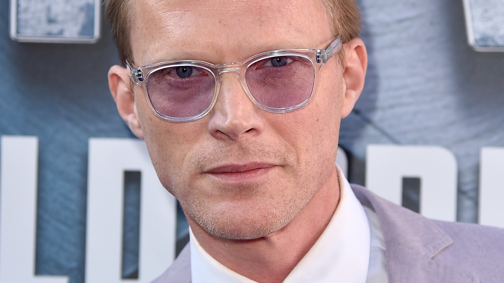 Paul Bettany looking intense