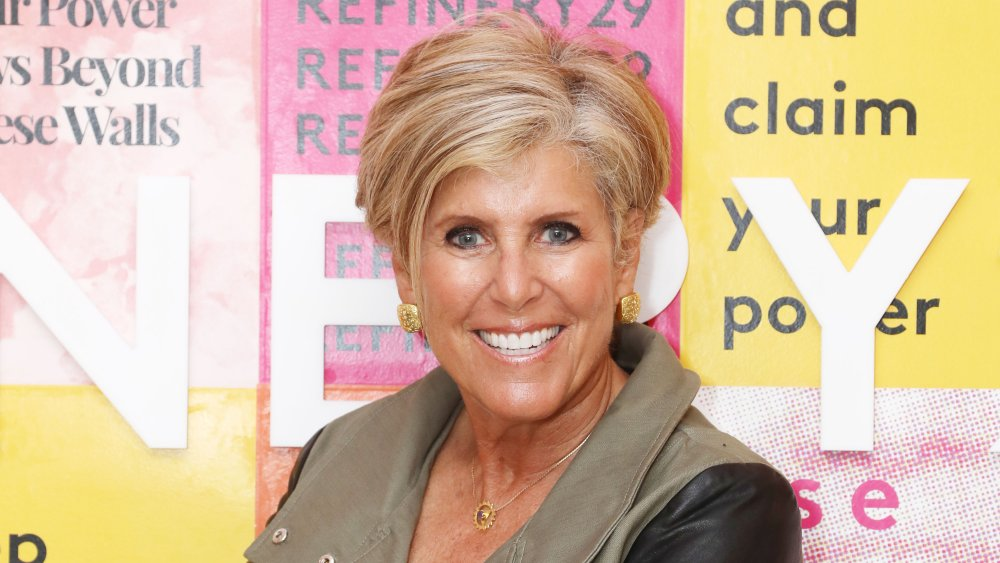 Suze Orman at a Refinery29 event in 2018
