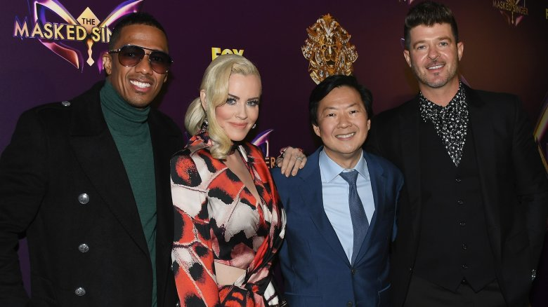 Nick Cannon, Jenny McCarthy, Ken Jeong, Robin Thicke
