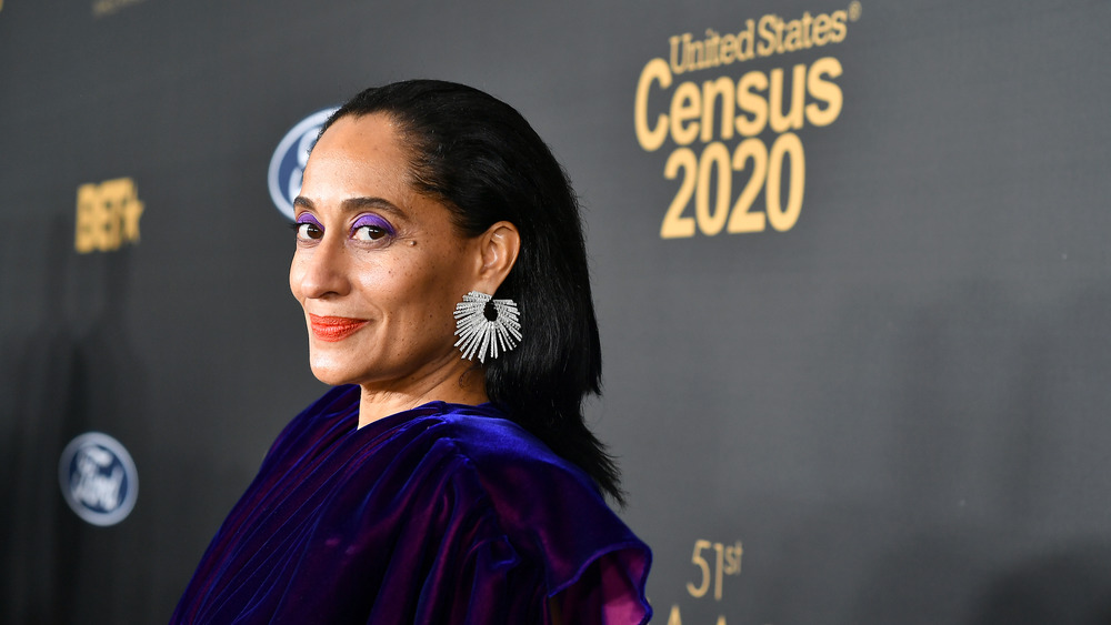Tracee Ellis Ross with makeup