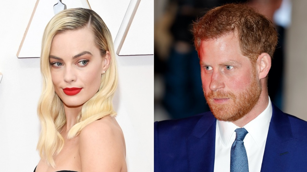 Margot Robbie at the oscars, Prince Harry on the street