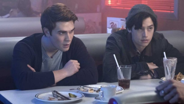 Archie Andrews and Jughead Jones in Riverdale
