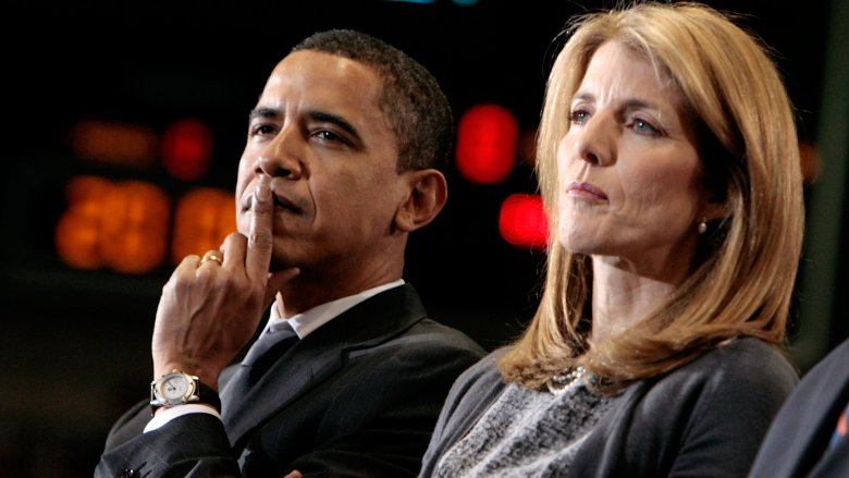 Barrack Obama Caroline Kennedy