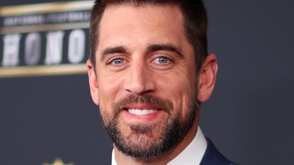 Aaron Rodgers attends FL Honors at University of Minnesot