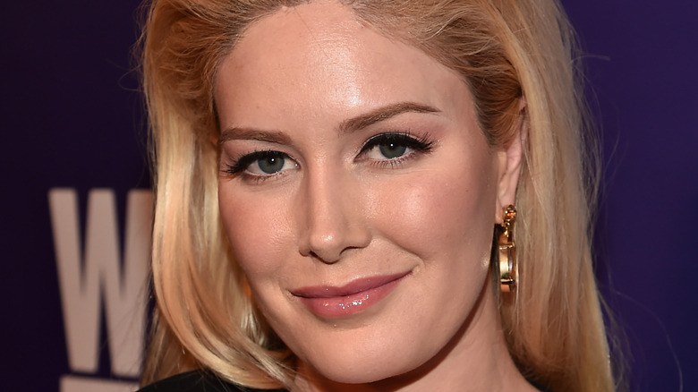 Heidi Montag at an event