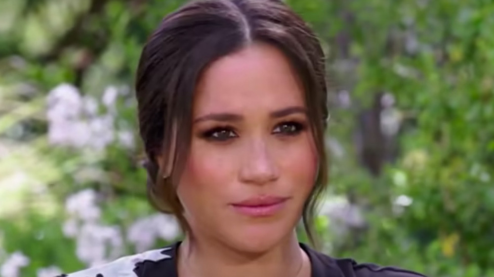 Meghan Markle in CBS interview with Oprah