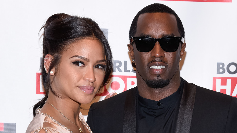 Cassie and Diddy smiling