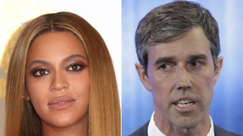 Beyonce and Beto O'Rourke