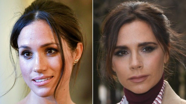 Meghan Markle and Victoria Beckham