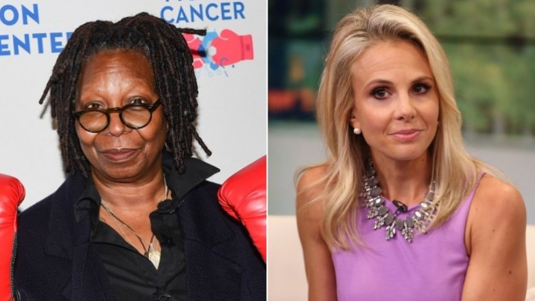 Whoopi Goldberg and Elisabeth Hasselbeck