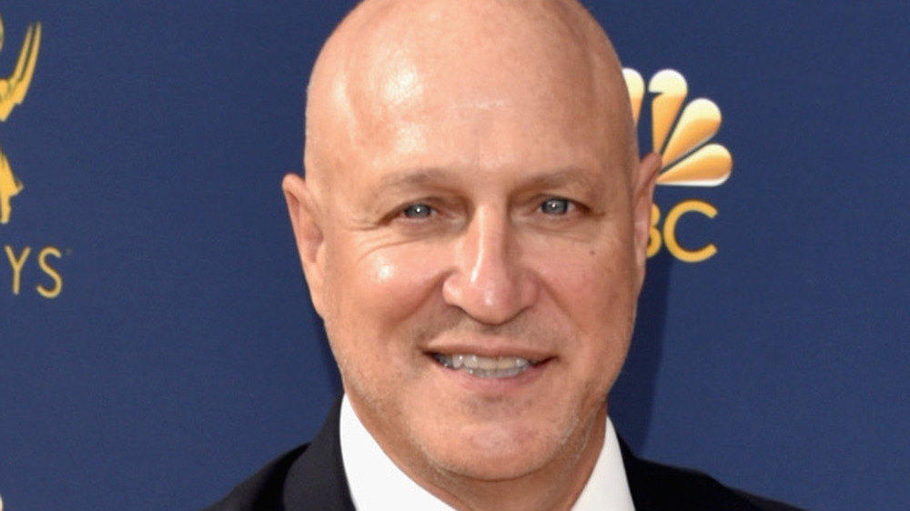 Tom Colicchio on a red carpet