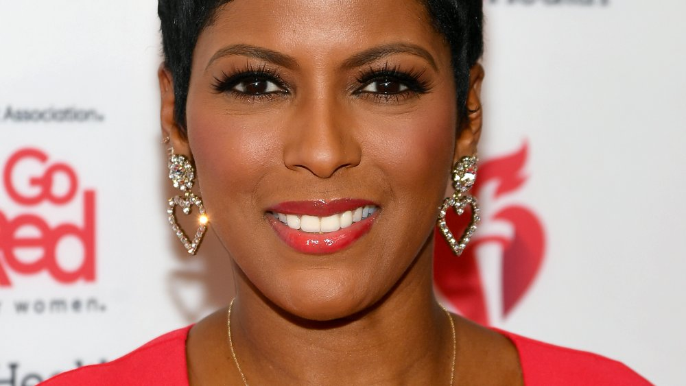 Tamron Hall go red