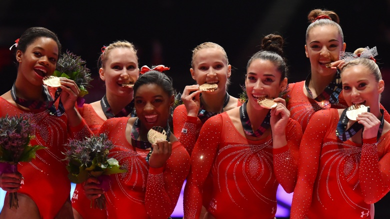 Image result for usa gymnastics team facts