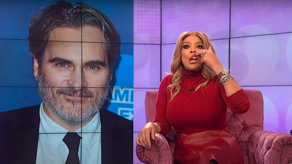 Wendy Williams on her show mocking Joaquin Phoenix