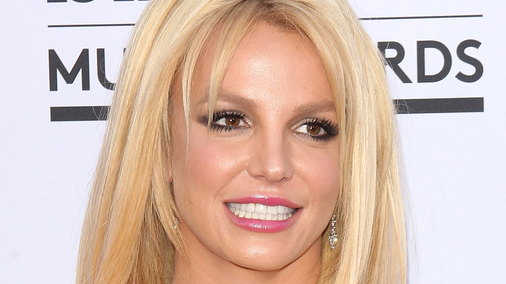 Britney Spears on the red carpet of the Billboard Music Awards