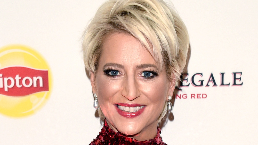 Dorinda Medley on the red carpet