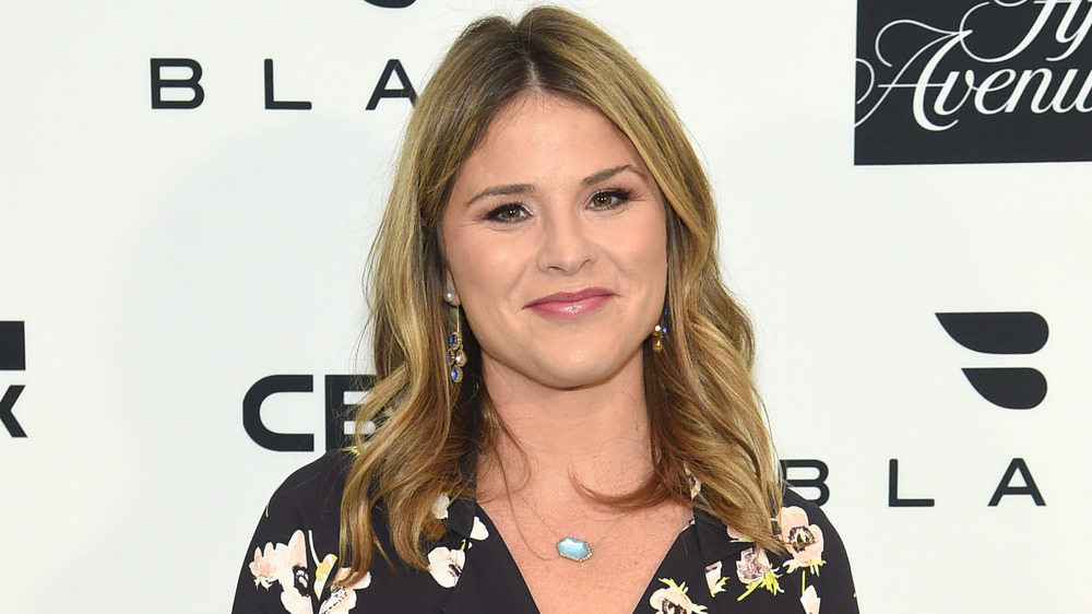 Jenna Bush Hager smiling at an event