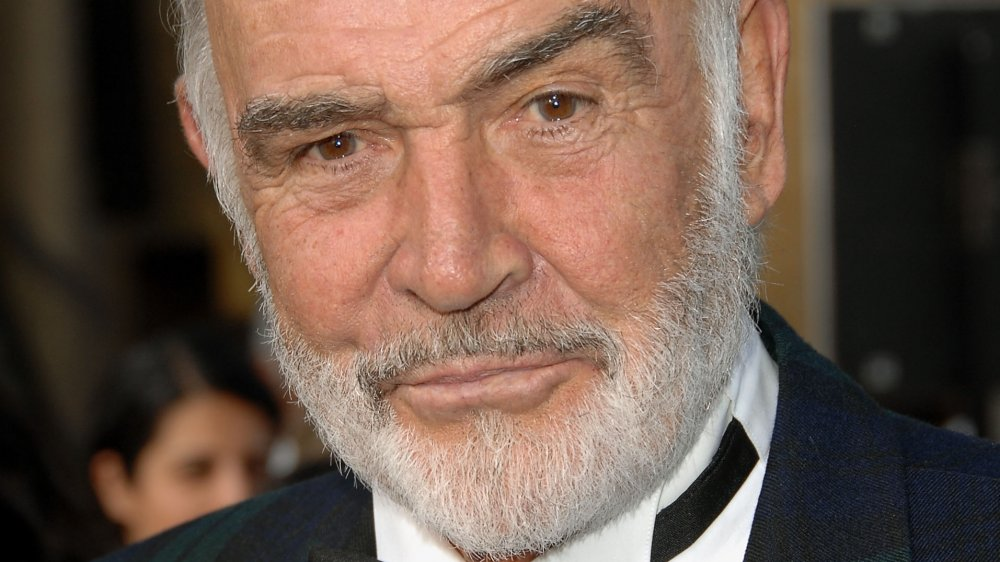 Sean Connery with his signature stern expression at a 2007 AFI event