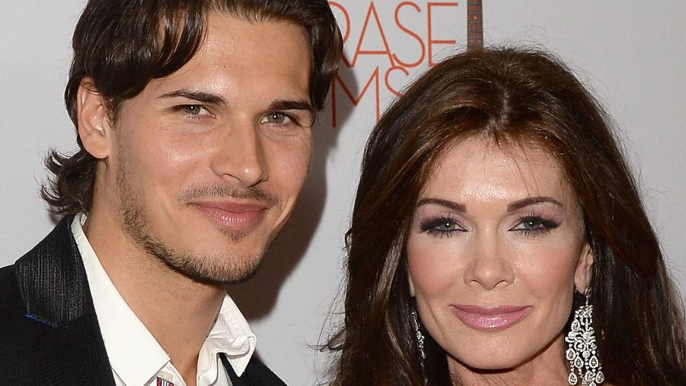 Lisa Vanderpump and Gleb Savchenko, red carpet