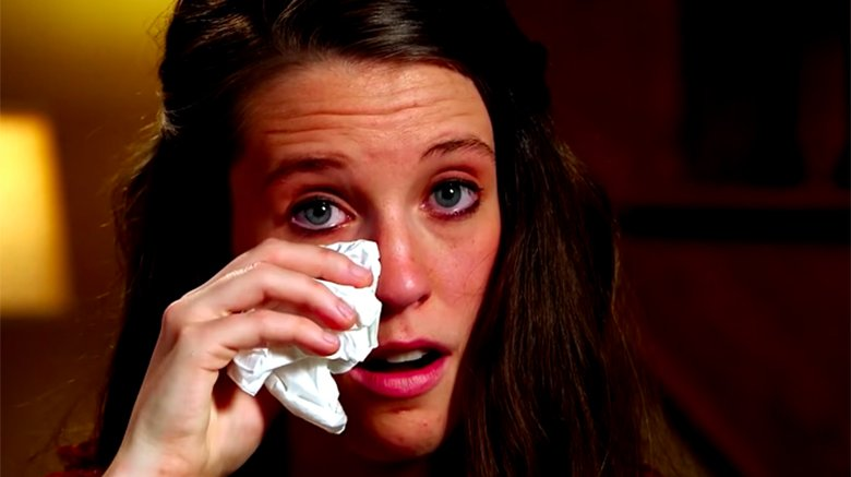 Jill Duggar Dillard crying