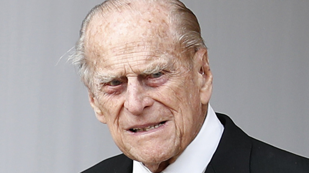 Prince Philip attending Princess Eugenie's wedding